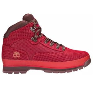 NEW Men's 11 Timberland Euro Hiker Red Boots